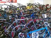 We are having actually a huge used bike sale today from