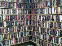 I am selling off my video library.  I have over 1000