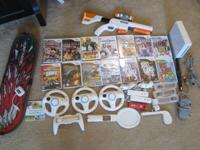 I have a big wii lot for sale. Everything works (simply