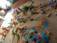 Huge GeoTrax Train Set Lot. There is over $600 worth of