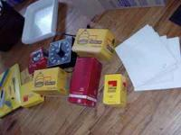 Huge lot contains darkroom equipment, cameras, Polaroid