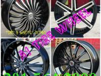 20 INCH WHEELS & TIRES PLAN $1050.