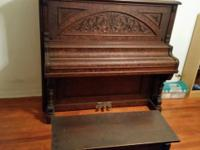 Antique Piano early 1900, s Type - Upright Grand Piano