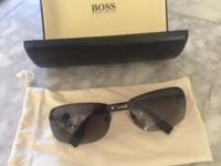 Hugo boss sunglasses for sale. Worn once. Brand new
