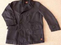 This is a M/L size Boss cabin coat (Navy sailor jacket