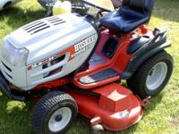 this is a comeericial grade husky mower with 54inch