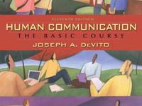 Selling my copy of Human Communication the Basic