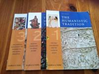 The Humanistic Tradition Books 1, 2,3 all sold together