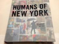 Unused copy of Humans of New York photographed by