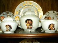 This is a 3 piece tea set made by the Danbury Mint
