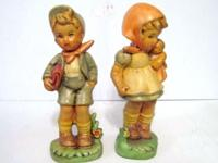Hummel Look Alike Figurines -- Not actual Hummel