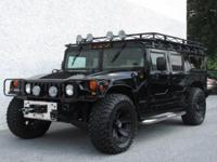 Hummer H1 1999 - CTIS Works - Awesome Stereo - Roof