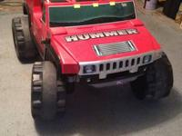 "Little Tikes"" Two Seats Hummer H2"". Color: Red. Comes"