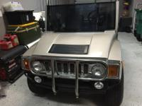 Super nice head turning custom Hummer h3 Golf Cart -