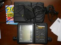 Humminbird LCR4000. This fishfinder has served me