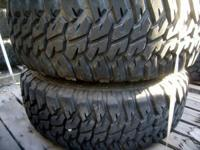 USED HUMVEE TIRES & BEADLOCK WHEELS  37 X 12.5 X 16.5