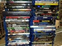 Docs Video Games and Movies      HUNDREDS of Blu rays