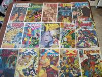 I HAVE BOXES OF COMICS APX 800 FOR SALE. I HAVE NO IDEA