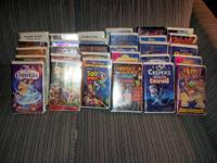 Hundreds of VHS Movies for sell. Doing spring cleaning