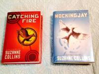 Hunger Games Books, both hard cover $15 for both  They
