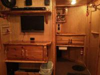 custom 7x16 fish house, built in 2011, need new truck