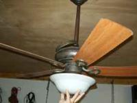 Hunter 5 Blade Ceiling Fan W Light 20 Ironton