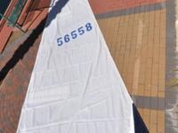 Hunter Factory Main Sail for a Hunter 33' er This sail