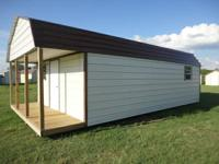 12'x24' Finished Portable Building ONLY $7995.00.  Why