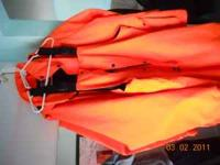 I have a set of hunters orange hunting coat and bibs