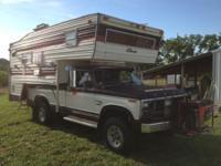 7,450 or Best Offer RV-Antique Truck-Camper Special