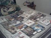 I have a variety of hunting and fishing magazines from
