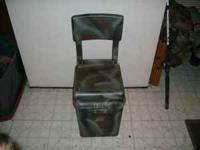Hunting and fishing seat perfect for dove season Flip