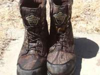 Hunting season approaching fast get your boots.... Nice