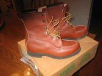 HUNTING BOOTS BY MASON SHOE MFG. CO. MEN'S SIZE 8.5.
