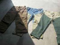 i have 2 pair of brush pants for sale. columbia