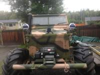 Custom-made hunting buggy Chevy one heap frame Dana 60