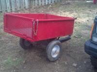 All steel tilt trailer. Good tires & wheels. Perfect