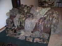 HUGE hunting gear lot. Way too much to list separately,