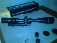 BSA Contender Hunting Scope 4 * 16 * 40mm. Terrific