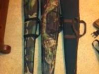 Three gun cases, no rips Backpack and a Mojo dove decoy