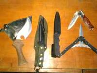 5 knives total All in good condition $25 Call or text