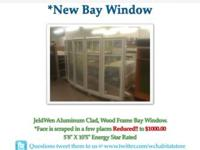 HURD DOUBLE HUNG COMPLETE WINDOW (NEW) SCREENS AND