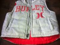 I have an infant children HURLEY vest. It is silver on