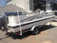 POWERED BY A YAMAHA 4 STROKE 115HP. INCLUDES, BIMINI