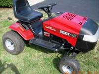 Huskee Mower with a 14HP I/C Commercial Engine. It is