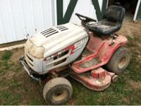 "23 HP 46"" deck. Has not been used since last Spring,"