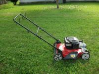 Type:GardenFor Sale- a Huskee lawn mower, runs well,