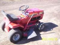 For Sale - Huskee Riding Lawnmower, 12 H.P. Briggs *