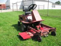 "I have for a sale a 2004 Huskee 26 hp, 54"" cut riding"
