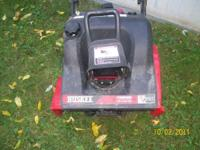 I HAVE A 21 INCH HUSKEE SNOW BLOWER MADE BY MTD IT HAS